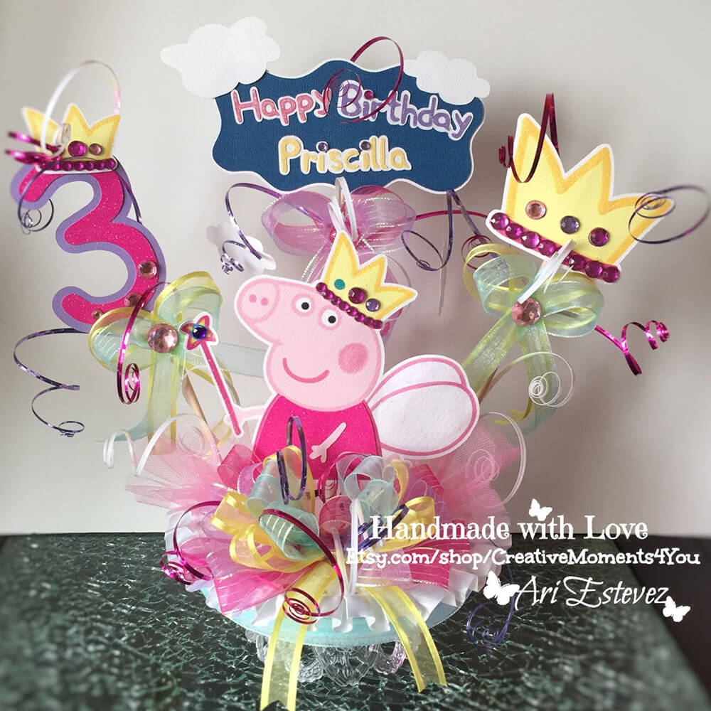 Excellent Peppa Pig Birthday Party Ideas Party Handbook Funny Birthday Cards Online Overcheapnameinfo